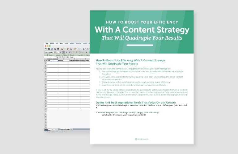 Content Strategy: How To Build One & Quadruple Your Results