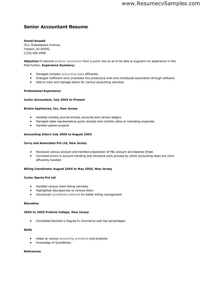 entry level assistant principal resume templates senior educator ...