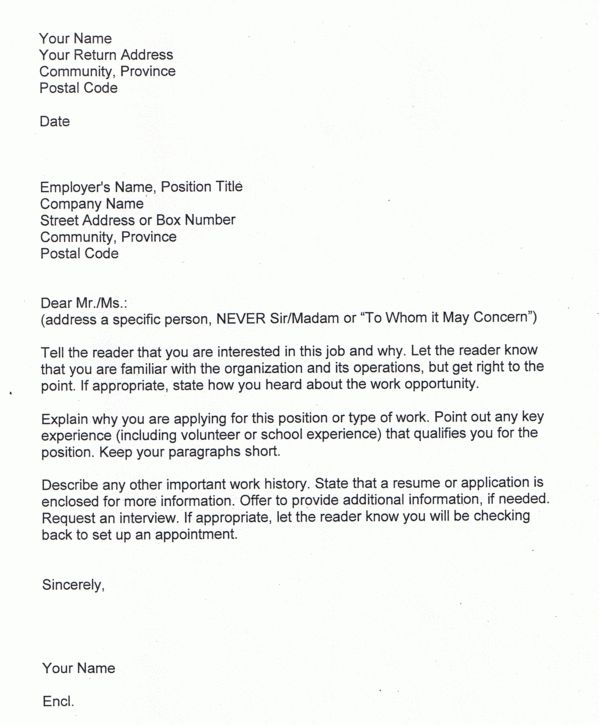 Beauty cover letter Sample | Sample Cover Letter for Job ...