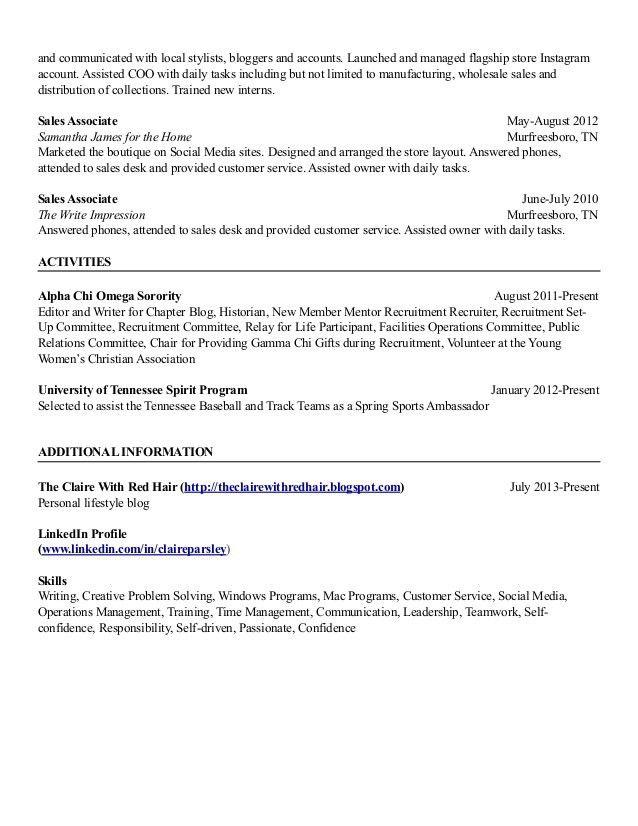 Harvard Style Resume - Contegri.com