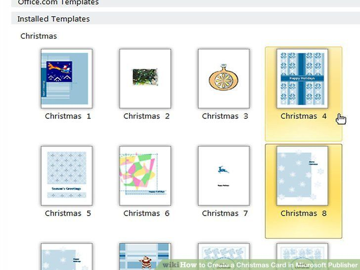 How to Create a Christmas Card in Microsoft Publisher: 5 Steps