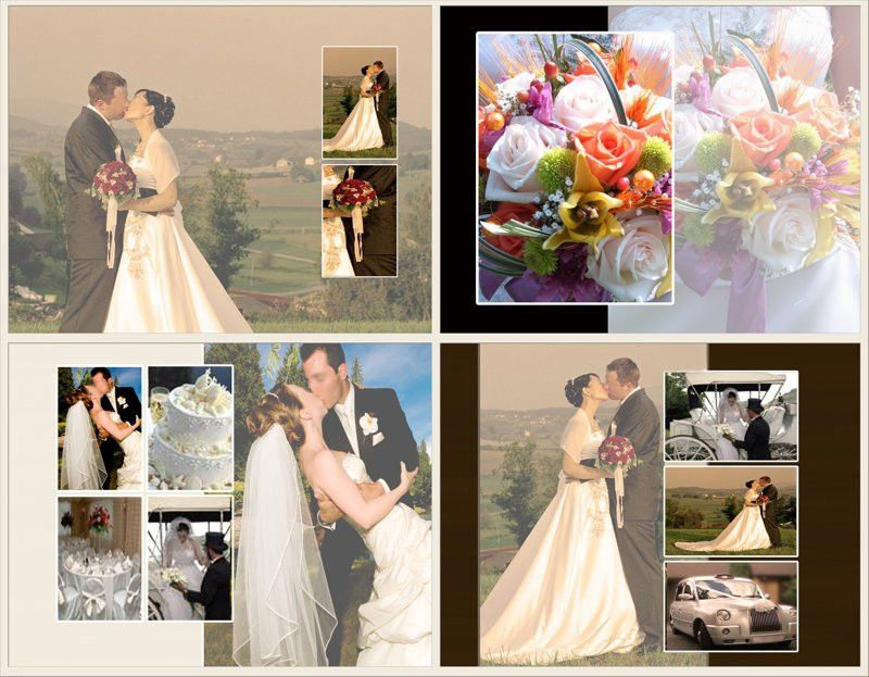 Photo Book Template: Wedding Memories - Quick Album - PrestoPhoto