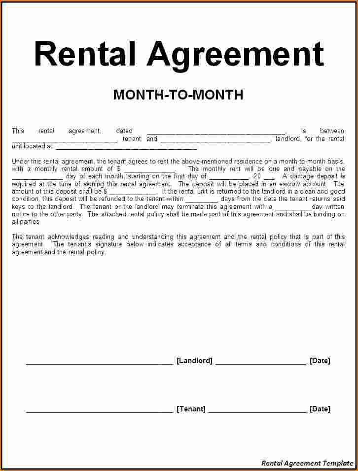 6+ Rent Agreement Letter | Printable Receipt