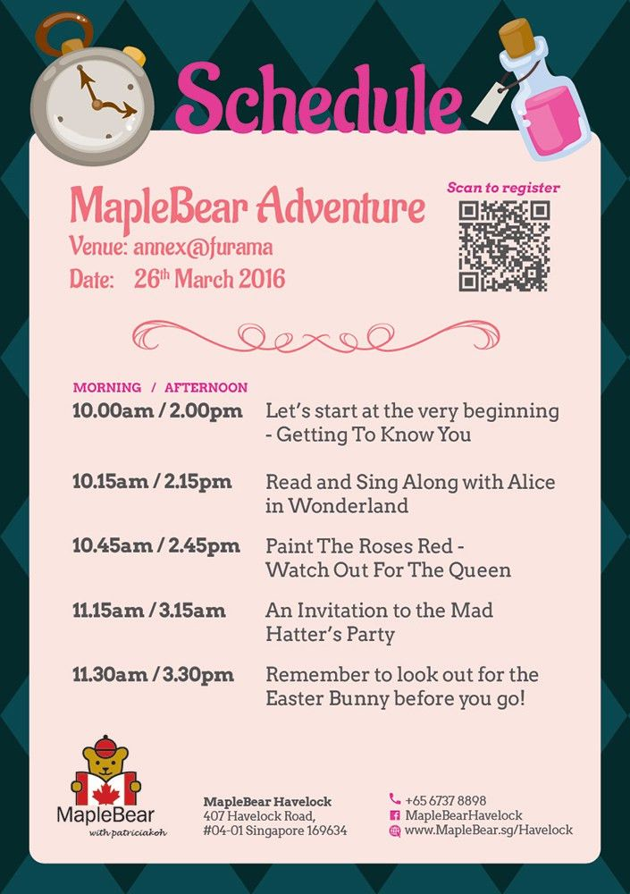 Maple Bear Singapore - Bilingual Immersion Preschool - Havelock ...