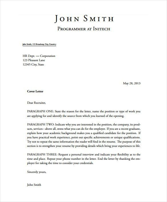 production cover letter template film production cover letter ...