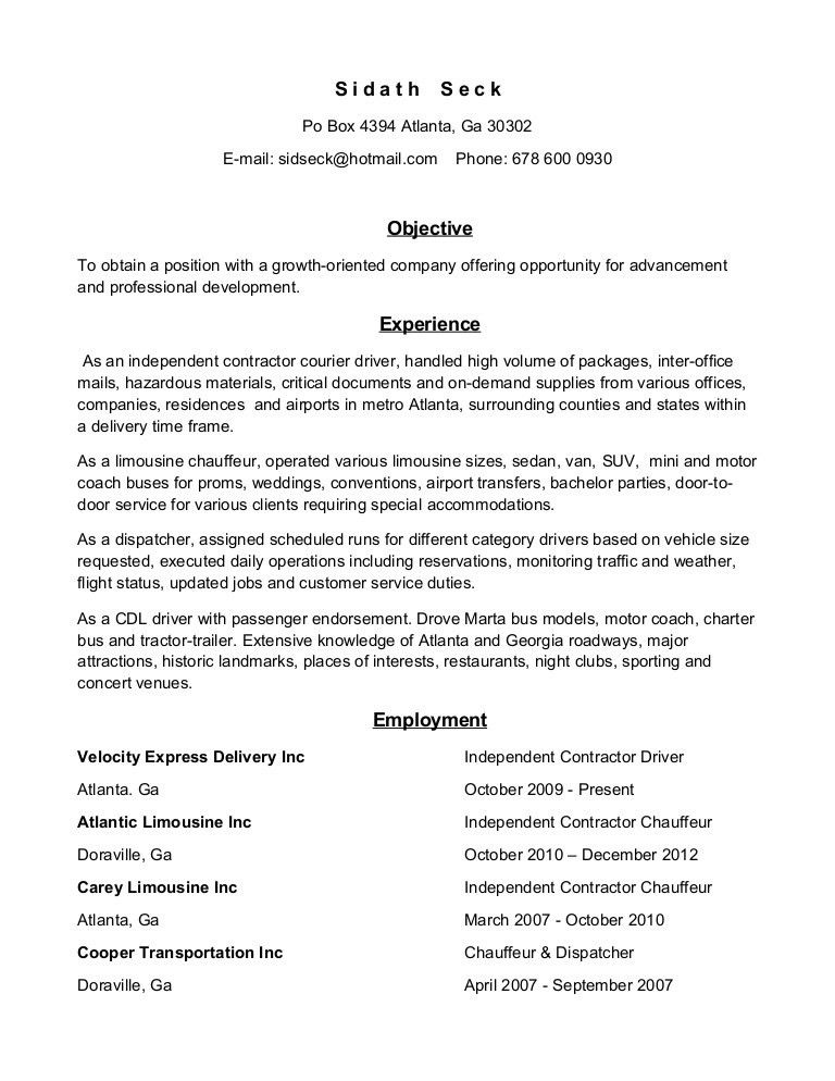 bus driver cv 27042017. sample resume public bus driver bus driver ...