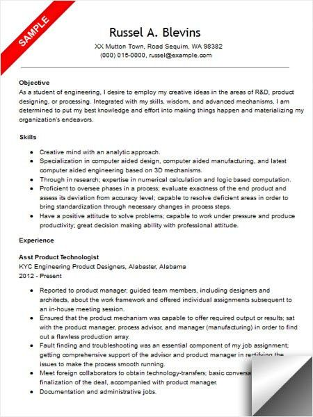 mechanical engineering internship resume objective patient care ...