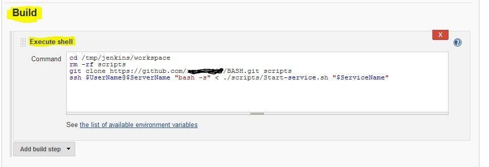 Jenkins and GIT – Shell script remote execution | Rajesh Gundeti ...