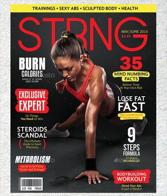 Magazine Cover PSD Template – 31+ Free PSD, AI, Vector EPS Format ...
