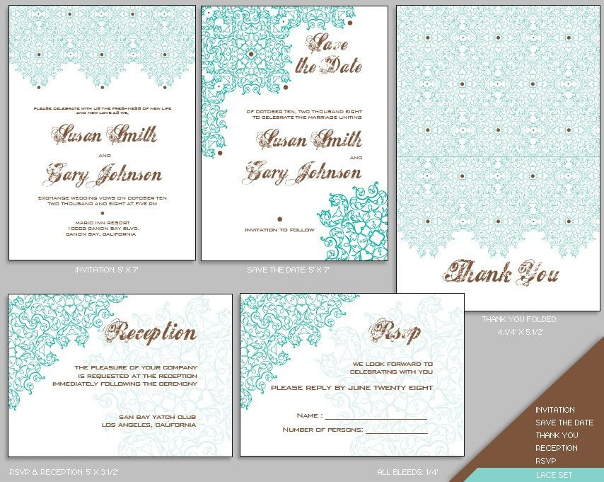 Wedding Invitations Format Popular Printable Wedding Invitation ...