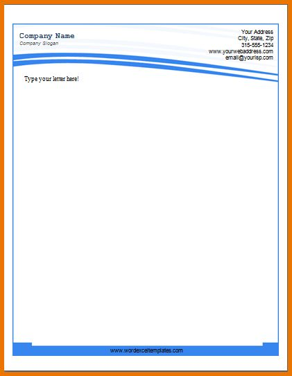 Business Letterhead Template Word.business Letterhead 3.png ...