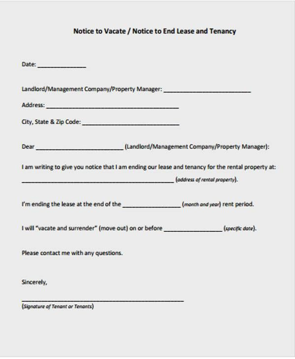 Lease Letter Templates - 8+ Free Sample, Example Format Download ...