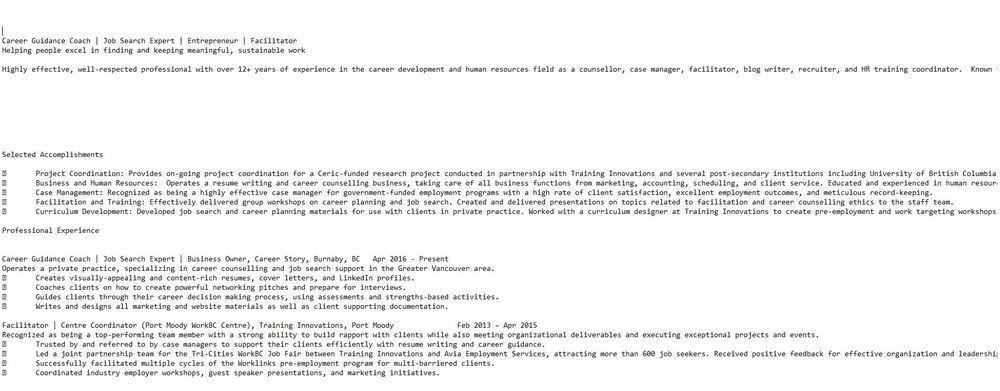 Do I Need a Plain Text Resume? — Career Story