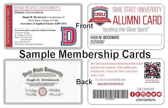 Dixie State University :: Alumni :: Alumni Card & Benefits