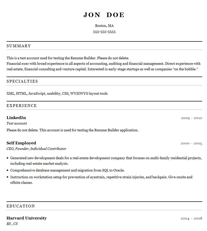resume template creator resume builder for high students
