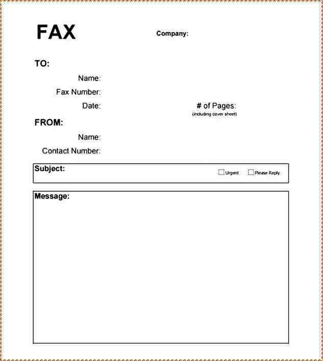 11+ Fax Cover Letter Pdf | Academic Resume Template