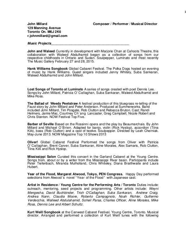 John's Resume February 2015