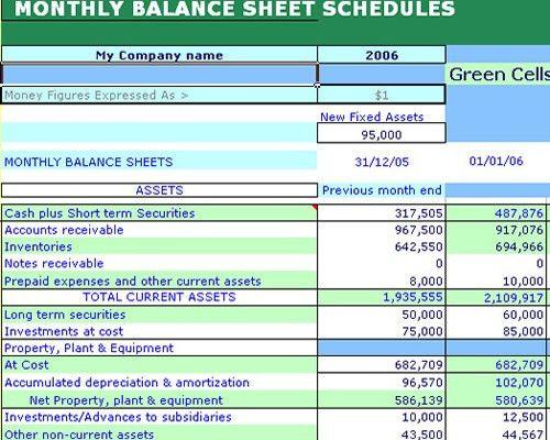 Excel Templates For FastPlan PRO, Excel Spreadsheet, Millennium ...