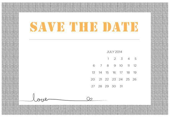 28+ Free Save The Date Template | Pages Wedding Save The Date Card ...