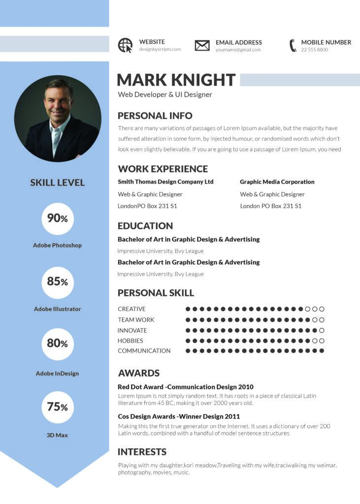 A Guide to Good Traditional Resume Template | Good Resume Samples