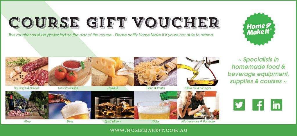 Home Make It Course Gift Voucher | Home Make It