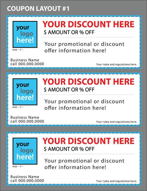 Coupon Template : Selimtd