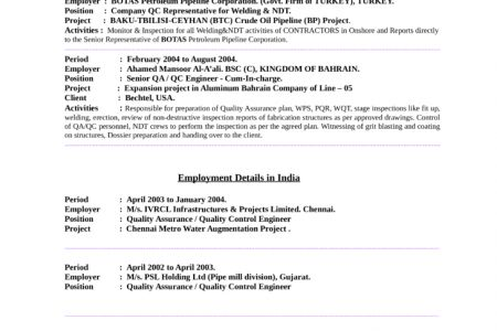 structural welder sample resume resumes objective examples welder ...