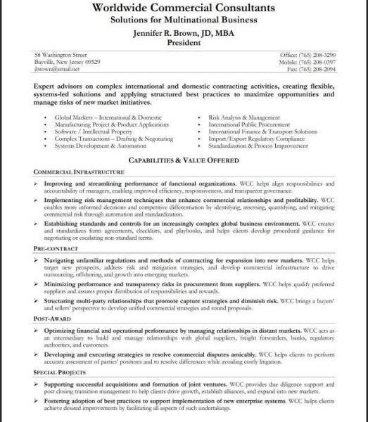Well-Suited Resume Summary Statement Example 7 - CV Resume Ideas