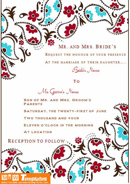 Wedding Invitation Template | Soft - Templates