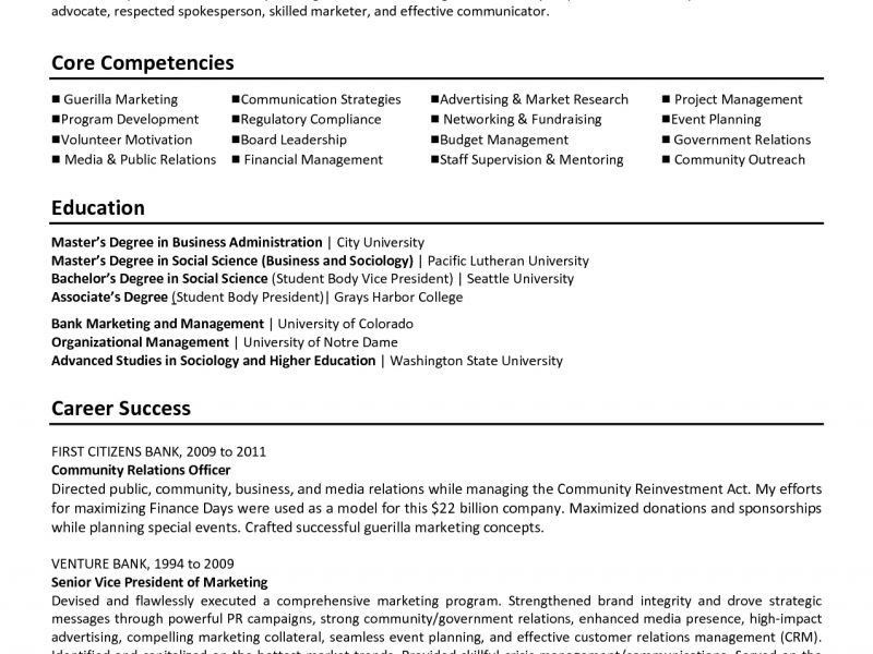 Executive Director Resume - Resume Example