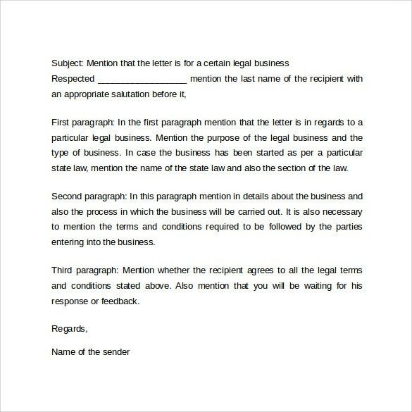 Formal Business Letter Format - 29+ Download Free Documents in ...