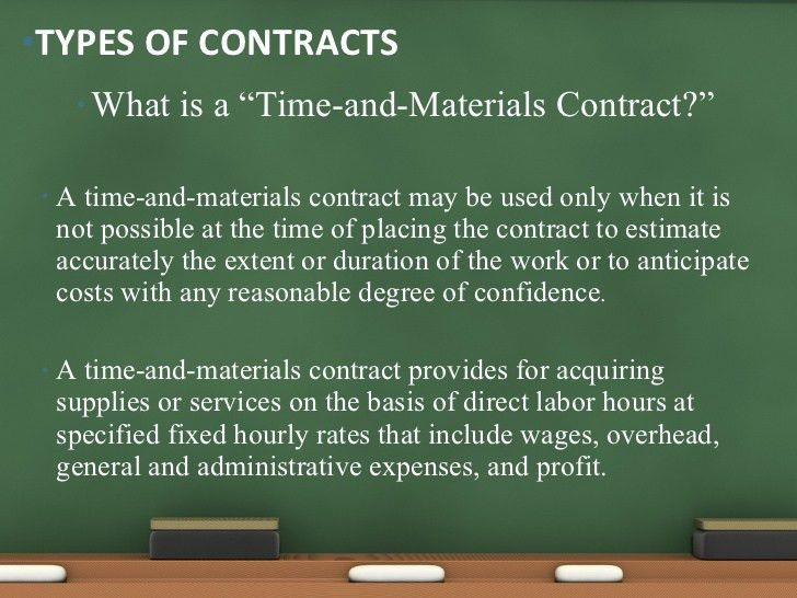Understanding government contracting terminology
