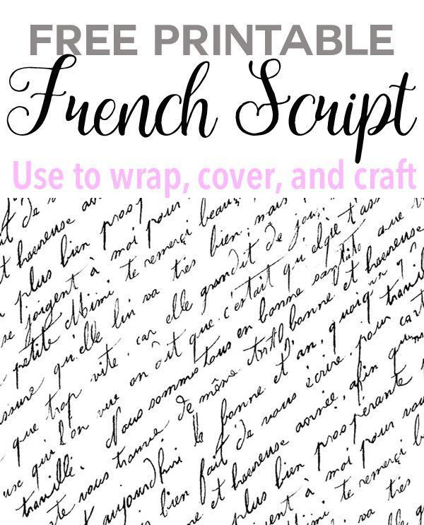 Best 25+ French script ideas only on Pinterest | Vintage writing ...