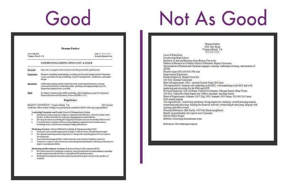 How To Make A Resume 21 Lines Example - uxhandy.com