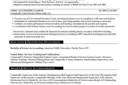 Military Security Resume Example - Reentrycorps
