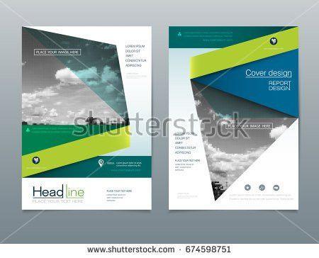 Vector Brochure Flyer Template Layout A4 Stock Vector 571854376 ...