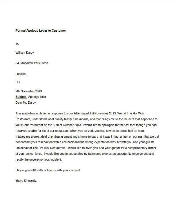 Formal Letter Sample Template - 51+ Free Word, PDF Documents ...