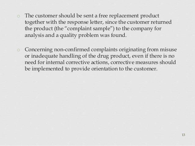 Complaints & Recalls