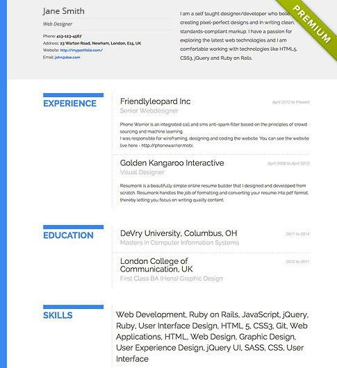 amazing design beautiful resume templates 6 download 35 free