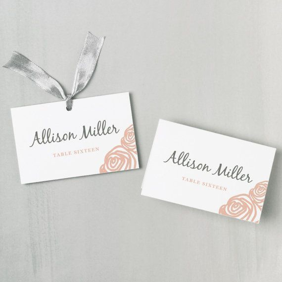 Best 10+ Print your own place cards ideas on Pinterest | The leaf ...