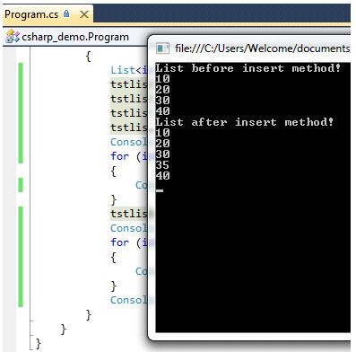 7 Examples to Learn C# list and its Methods – Sort, Find etc ...