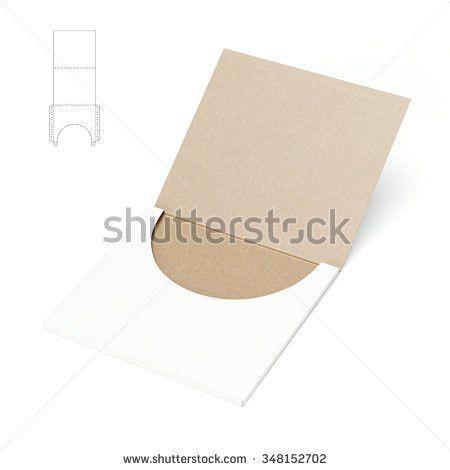 Custom Folder Die Cut Template Stock Illustration 338008739 ...
