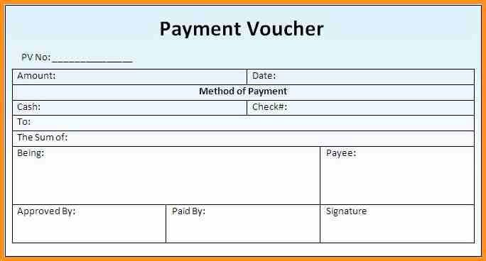 9+ how to make a voucher | cook resume