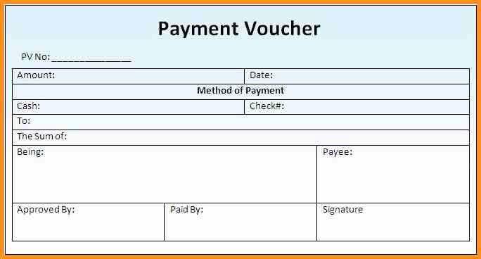 Payment Voucher Template. Perfect Format Samples Of Gift Voucher ...