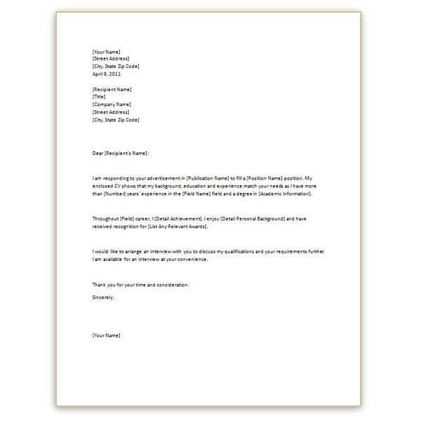 Smartness Ideas Introduction Letter For Resume 10 Writing ...