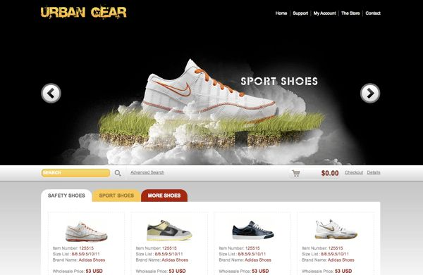 Free Website CSS/HTML Template: Wing the Air | Web Design ...