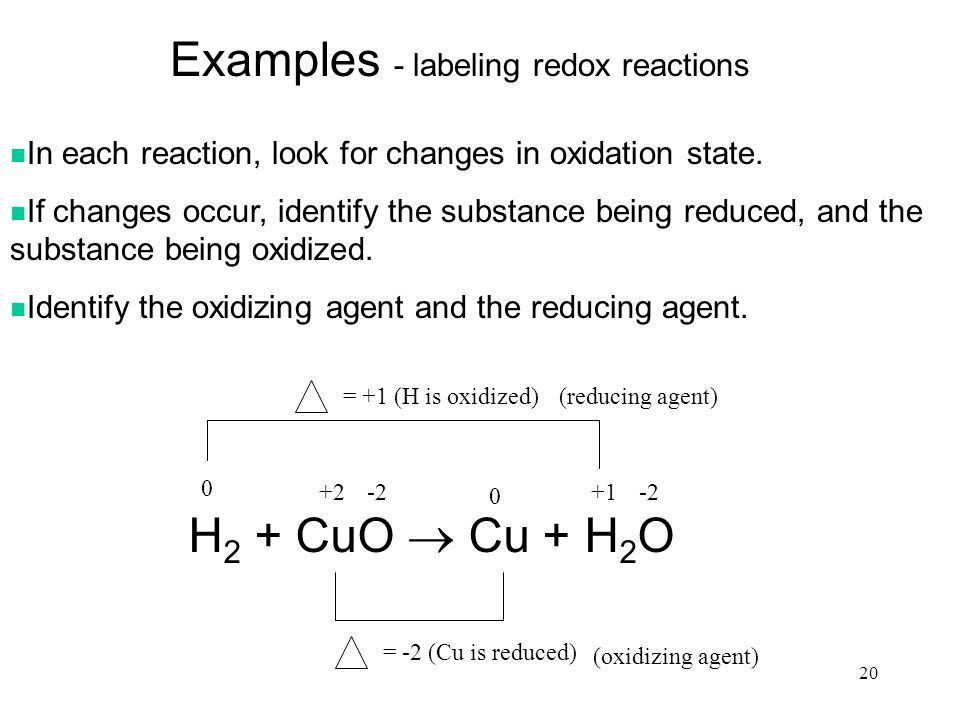 Oxidation-Reduction Reactions - ppt video online download