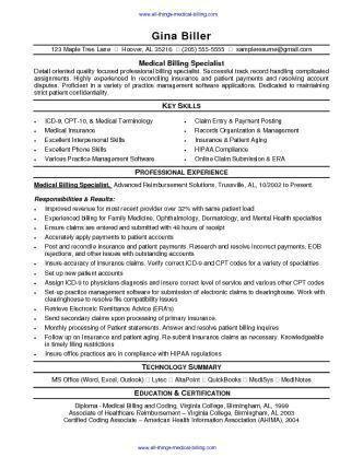 37 best resume images on Pinterest | Resume ideas, Medical billing ...