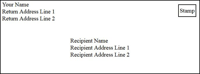 letter envelope format - thebridgesummit.co