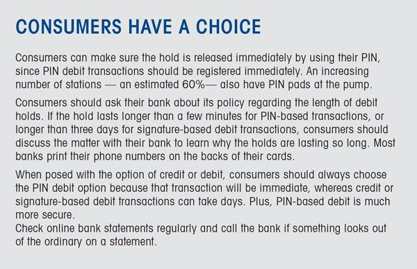 Credit and Debit Cards at the Pump   NACS Online – Your Business ...